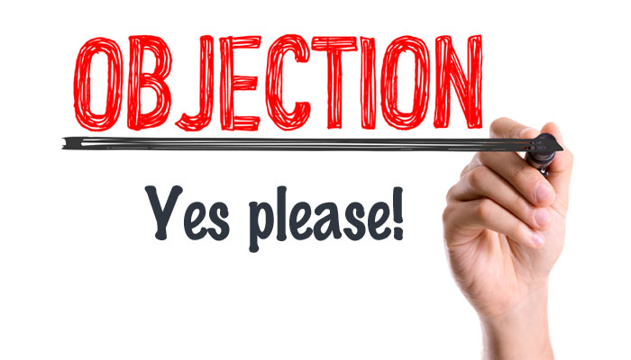 Price objections are a good sign in business