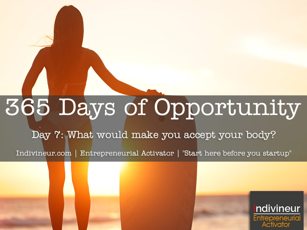 Day 7 Motivational Quotes: What needs to change for you to accept your body?