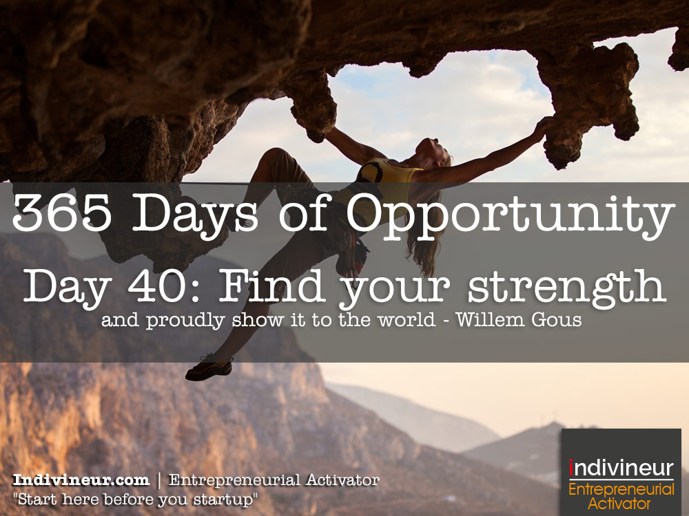 Day 40 motivational quotes: Find your strength and proudly show it to the world